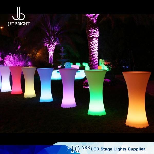 Led Coffee Table Set: Illuminated Led Cocktail Table